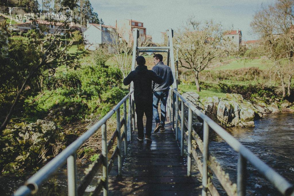 Grabación Eu Son Camariñas na Ponte do Porto
